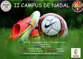 Inscripcions II Campus de Nadal Futbol