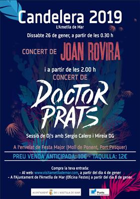Compra entradas Concierto Joan Rovira y Doctor Prats