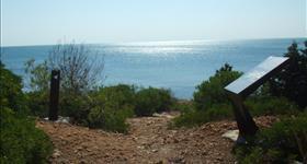 Visita a les fortificacions - Mar Natura