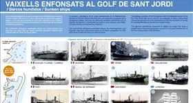 9. Vaixells enfonsats al Golf de Sant Jordi (Ruta: Descobreix l'essència d'un poble pescador)