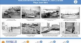 2. Plaza Joan Miró (Ruta histórica por l'Ametlla de Mar)