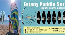 Paddle Surf Lloguer - Estany Paddle Surf