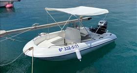 Rent no license boat - Enjoy Calafat