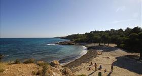 Пляж- Playa de l'Estany Podrit
