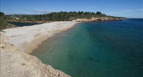 Пляж- Playa de Santes Creus