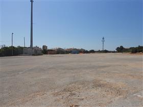 Zona d'aparcament dels Pontets