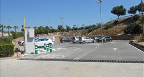 Parking Area, sporthall bridge
