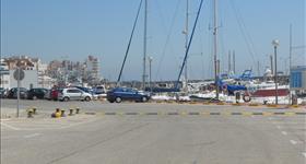Zona d'aparcament del Club Nàutic