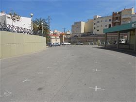 Zona d'aparcament del Mercat