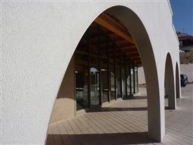 """Centre d'Interpretació de la Pesca """"CIP""""-Центр интерпретации рыболовства."""