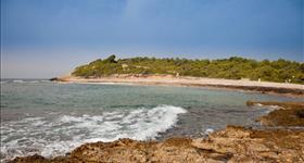 4. Espacio de Interés natural de la playa del Torrent del Pi (Ruta GR-92)