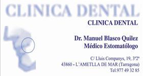 Clínica Dental Manuel Blasco Quilez