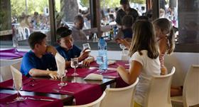 Restaurant Camping Ametlla