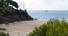 Platja de l'Estany Tort-Пляж