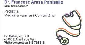 Dr. Francesc Arasa Panisello