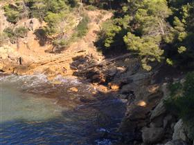 The cove 'punta de l'Àliga'