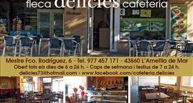 Bar Cafeteria Delicies