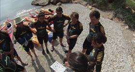 """Biokayak"" à l'Ametlla de Mar - Plàncton Diving"