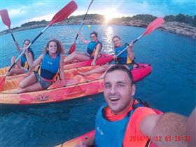 Activitat: Caiac & posta de sol - Mar Natura