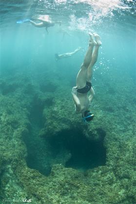 """Activitat: Descobreix el fons marí """"snorkel"""" - Mar Natura"""