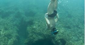 Discover the seabed while snorkelling - Mar Natura