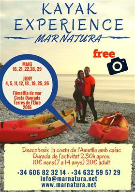 Descobreix la costa de l'Ametlla amb caiac - Mar Natura