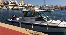 Pesca calamar - Sea Fish Charter