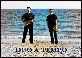 Actuació de Duo a Tempo