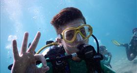 Bateig de busseig a 3 Cales - Plàncton Diving