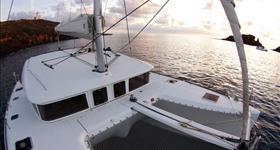 Dia de Xàrter, catamarà a vela, capacitat per a 12 pax - Cataexperience