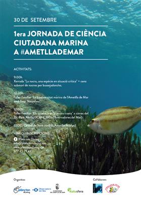 1a Jornada de ciència ciutadana marina a #Ametllademar