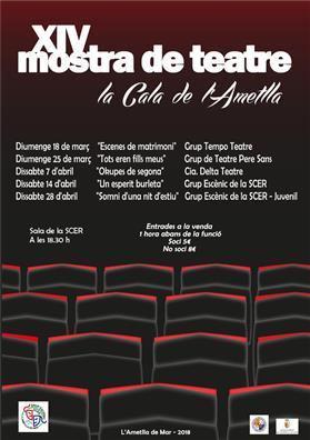"""XIV Muestra de teatro """"La Cala de l'Ametlla"""""""