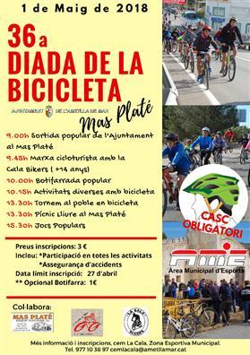 36ª Fiesta de la Bicicleta en el Mas Platé