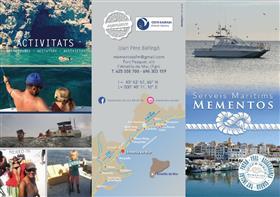 Excursió amb catamarà - Mementos Serveis Marítims
