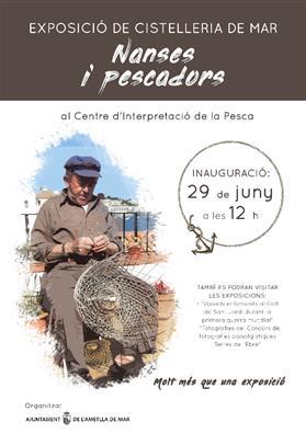 Exposició de cistelleria de mar: Nanses i pescadors