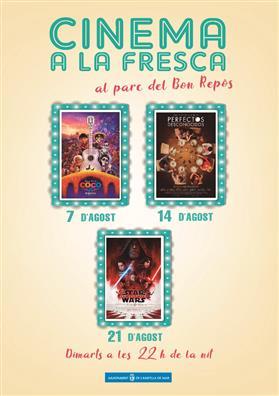 """Cinema a la Fresca: """"Star Wars: Los últimos Jedi"""""""